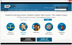 TAG - Creating Training Has Never Been Easier