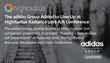 The adidas Group Added to Line-Up at HighRadius Radiance 2018 A/R Conference