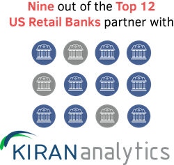 retail banks partner with Kiran Analytics