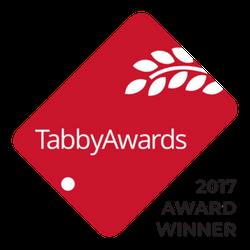 Tabby App Awards 2017 Winner Badge
