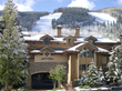 The all-condominium Antlers at Vail hotel provides a comfortable home base for spring skiing; each guest suite includes full living room, dining area, kitchen, private balcony and gas fireplace.