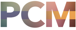 The letters PCM, the logo for Progressive Church Media