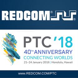 REDCOM at PTC '18