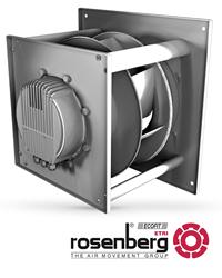 OEM air conditioner fans, blowers, HVAC fans, backward-curved fans