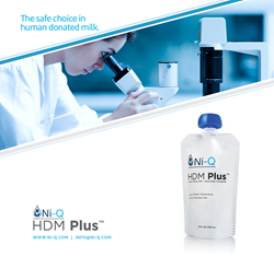 HDM Plus is the leading human donated milk for at-risk infants. It's an all-natural, non-fortified donated milk that is calorically regulated.