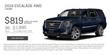 Suburban Cadillac of Ann Arbor 2018 Escalade Special