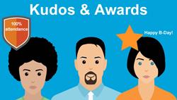 Employee Time Clock Kudo And Awards