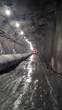 Round-the-clock: The Cordell Hull Capitol Building Connector Tunnel saw blasting crews working through the night and construction crews clearing away the debris during the day to create the tunnel.