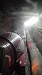 Special delivery: The construction crew had trucks drive inside the tunnel to feed the PENETRON ADMIX-enhanced shotcrete pump working in the emerging Cordell Hull Capitol Building Connector Tunnel.