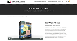 PFS Plugins - ProWall Photo - FCPX Effects