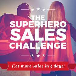 Superhero Sales Challenge