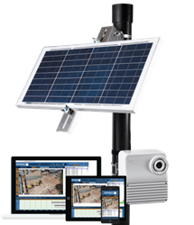 Sensera MC88 solar powered construction camera