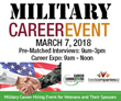 BestCompaniesAZ's 4th Annual Military Career Event Set for March 7; Over a Thousand Jobs Available with Arizona's Veteran Committed Employers