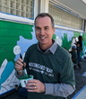 Florida Vision Technology Employees Paint Interactive Mockingbird Trail Mural on MLK Day of Service