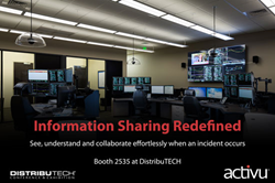 DTECH | DistribuTECH | control room | video wall | energy | utilities | collaboration | visualization | information sharing