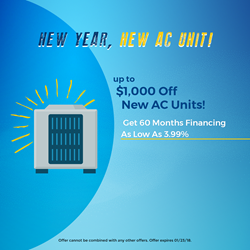 All Year Cooling New Year, New AC Unit Coupon Details
