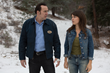 Nicolas Cage (as Noah Kross) and Rachel Weller (as Sarah Lind) in Minds Eye Entertainment's upcoming THE HUMANITY BUREAU