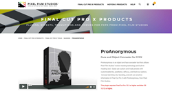 Pixel Film Studios Plugins - FCPX Effects - ProAnonymous