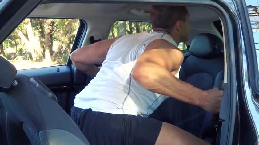 Crazy Aussie Car Exercises To Fight Our Lazy Habits