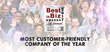 LensDirect.com Selected as One of The Most Customer Friendly Companies by Best In Biz Awards