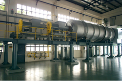Rotary kiln custom-designed by HiTemp Technology