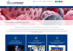 Starfrost's new website hompage