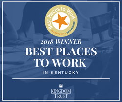 Kingdom Trust Best Places to Work in Kentucky