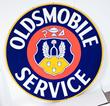 Oldsmobile Service Porcelain Sign, estimated at $6,000-10,000.