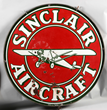 Sinclair Aircraft Porcelain Sign, estimated at $7,500-12,500.