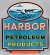 Harbor Petroleum Products Porcelain Sign, estimated at $20,000-40,000.