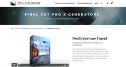 ProSlideshow Travel - Pixel Film Plugins - FCPX Plugins
