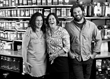 Nina Lesser-Goldsmith, Katy Lesser, and Eli Lesser-Goldsmith, owners of Healthy Living Market