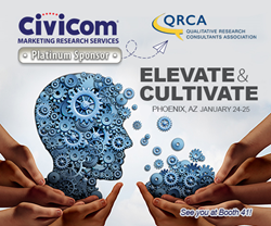 Civicom Marketing Research Services at QRCA 2018
