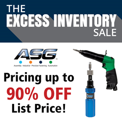ASG Excess Inventory Sale