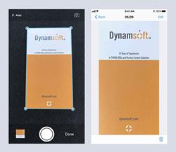 Dynamsoft Camera SDK iOS Capture Demo