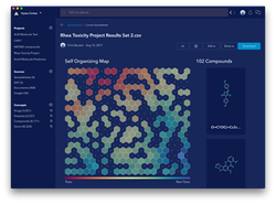 Chemistry related deep learning analytics modules available in Cortex