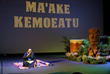Maake Kemoetau thanking his family, friends and supporters during the Enshrinement Ceremony