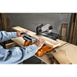 The WORX BladeRunner Crosscut Sled's fence support, measurement scale and center groove alignment provide consistent 90º accuracy.