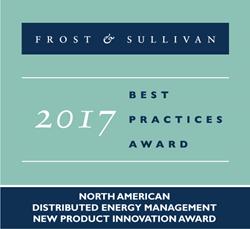 Frost & Sullivan DERs award