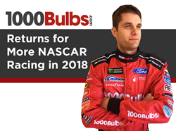 1000Bulbs.com Returns for More NASCAR Racing in 2018