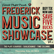 The Frederick News-Post & Frederick Playlist Announce Lineup for Frederick Music Showcase VOL. 4 at Weinberg Center for the Arts
