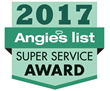 Woodard Earns Esteemed 2017 Angie's List Super Service Award