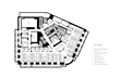Ground floor plan of the American Enterprise Institute headquarters.