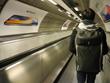 Instinct backpack in UK Tube station