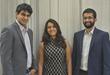 Callido's founders (from left: Sriram Subramanian, Madhu Agrawal, Chinmaya Kulkarni)