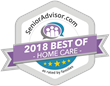 Best In-Home Care 2018 Award