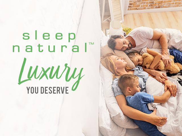 Sleep Natural™ Announces New Website + Mega Celebration
