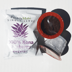 Buy Pooki's Mahi Peaberry 100% Kona coffee subscriptions from $50.99 at https://subscriptions.pookismahi.com/products/100-kona-coffee-peaberry-pods