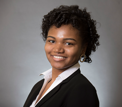 Kyana Washington, an English major attending Spelman College, has been selected as the English in Action 2018-2019 Luard Morse Scholar.