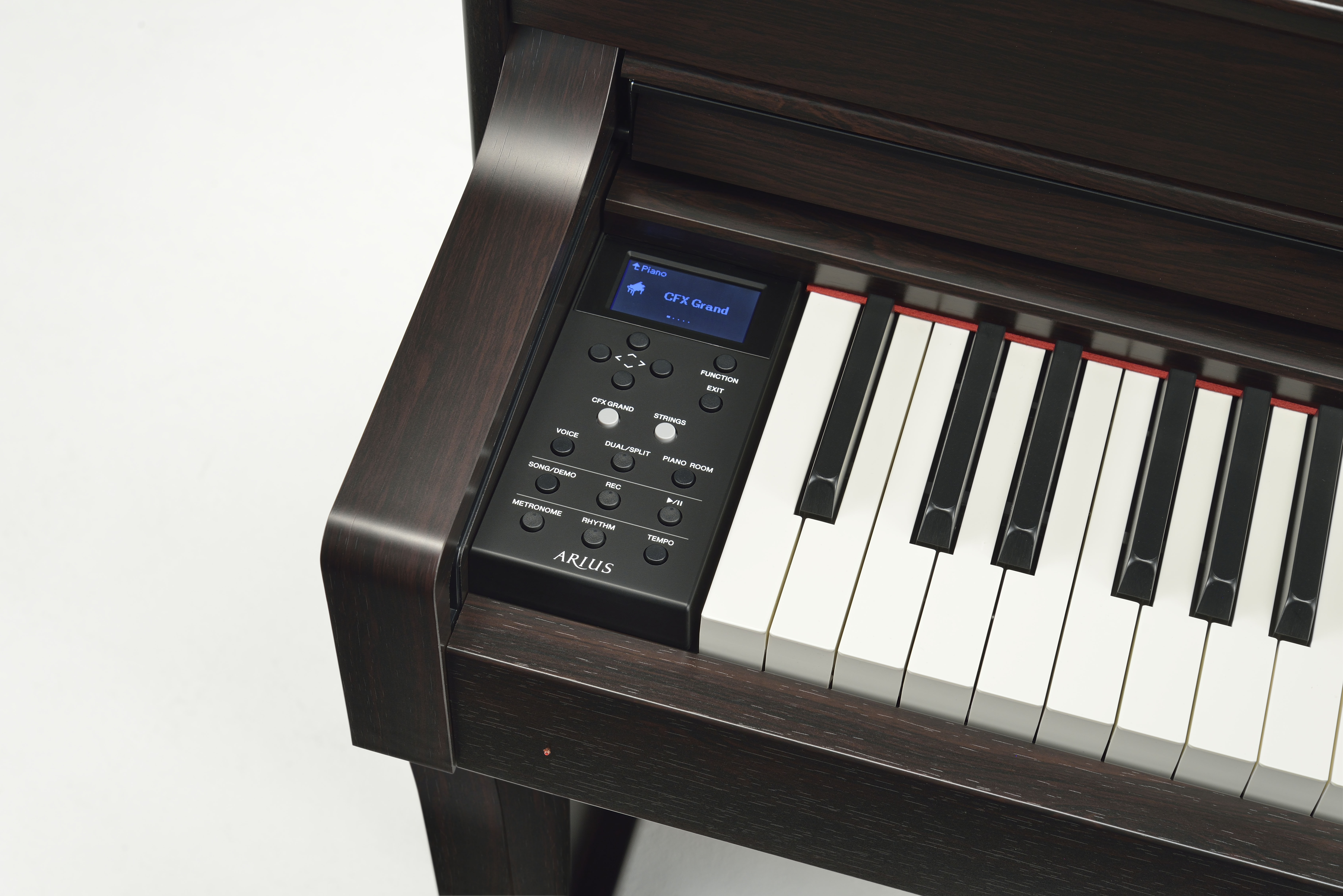 Yamaha adds two new models to its arius digital piano line for Yamaha keyboard models